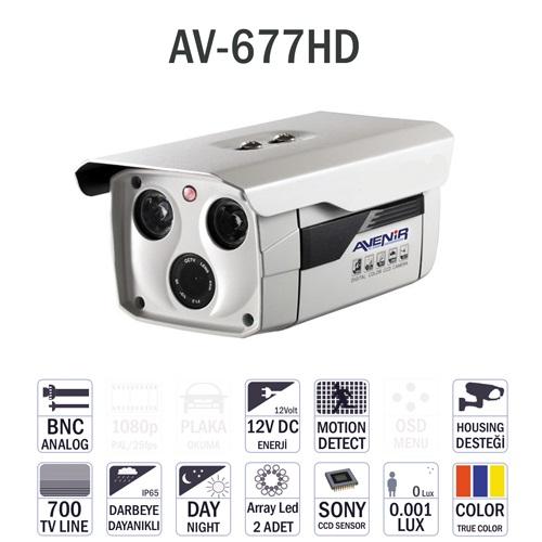 AVENİR CCTV Gece Görüşlü Güvenlik Kamerası