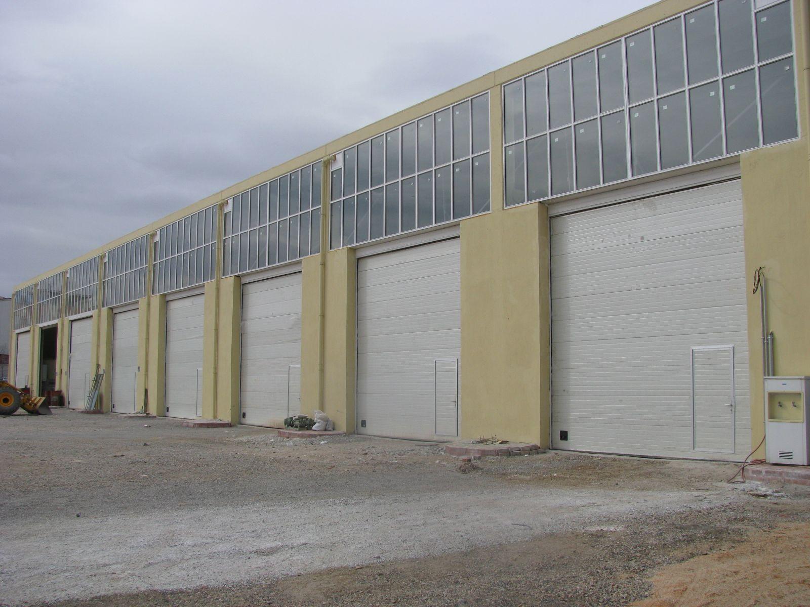 Otomatik Endüstriyel Kapı